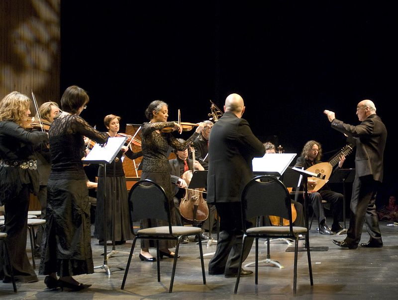 L'orchestre Les Passions, dirigé par Jean-Marc Andrieu - Photo Jean-Jacques Ader -