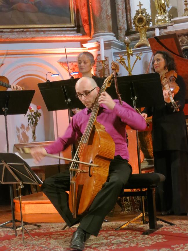 Concert les Passions à la Chapelle Sainte-Anne © GP