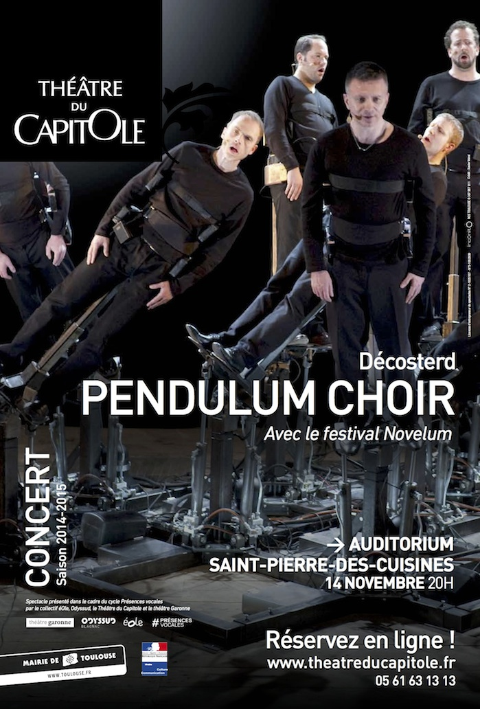 Le spectacle de musique nouvelle Pendulum Choir