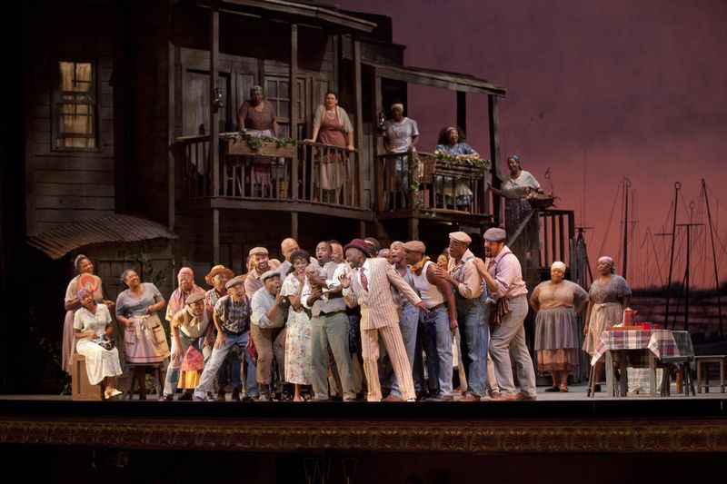 Porgy and Bess, par le New York Harlem Theater - Photo Luciano Romano -