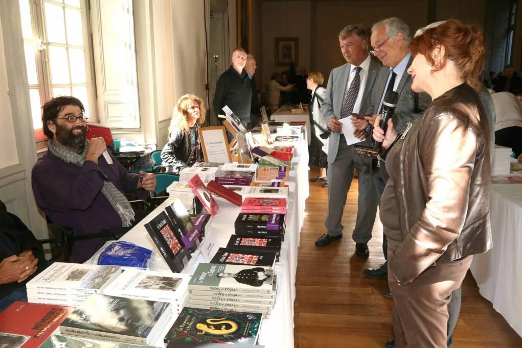 Le salon du livre des gourmets de lettres lancement de - Salon du livre gourmand ...