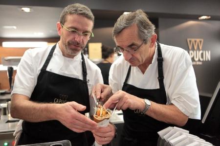 Sébastien et Michel Bras / Capucin - © Émilie Gentils - The Food Eye
