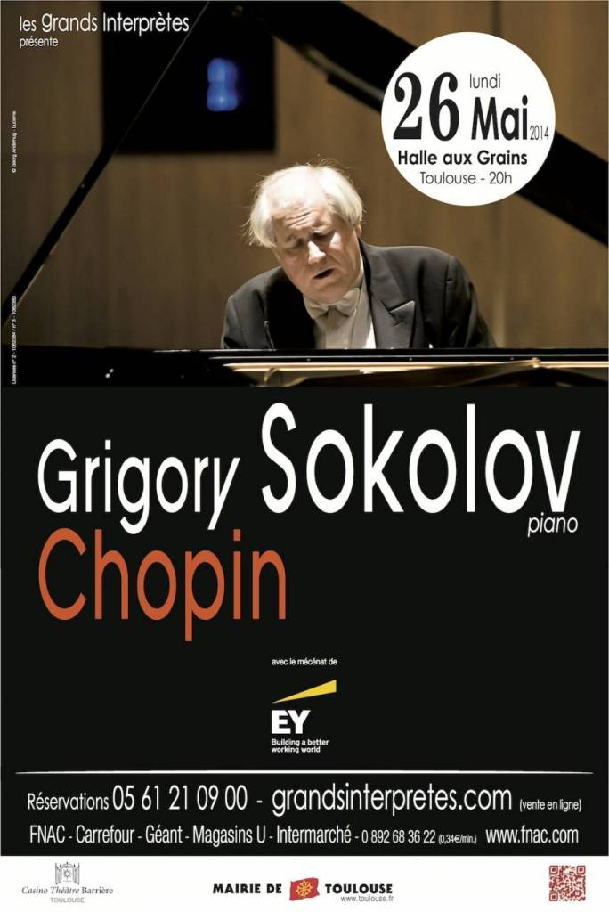 Grigory Sokolov - Les Grands Interprètes