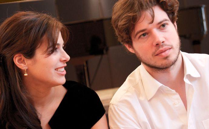 Le Duo Solot : Stéphanie Salmin et Pierre Solot, pianos