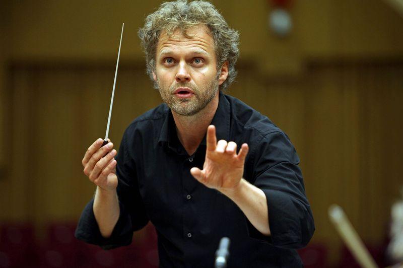 Le chef d'orchestre danois Thomas Søndergård