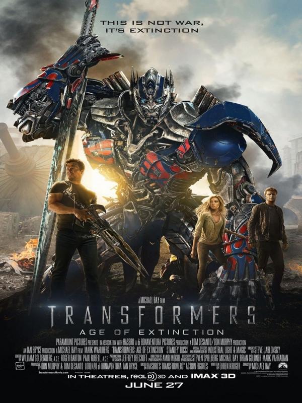 « Transformers : L'Âge de l'extinction », un film de Michael Bay