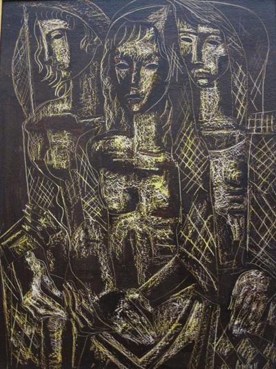 Georges Artemoff - Trois Femmes