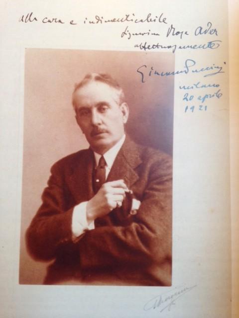 Giacomo Puccini, trois ans avant sa mort