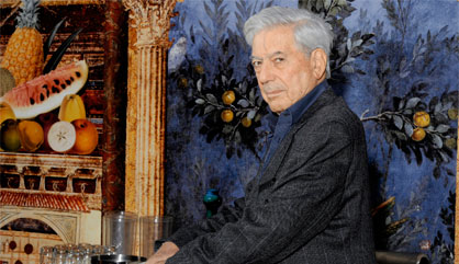 Vargas Llosa ©  C. Hélie - Gallimard