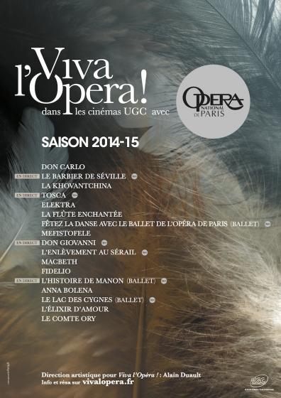 Viva l'Opéra - saison 2014/2015