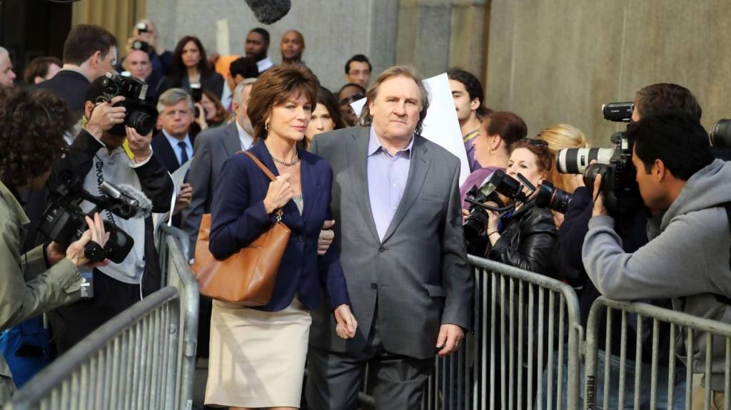 Welcome to New York d'Abel Ferrara avec Gérard Depardieu, Jacqueline Bisset
