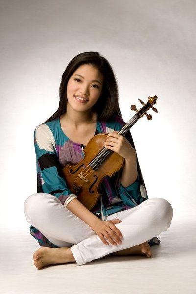 La violoniste coréenne Ye-Eun Choi , soliste du concerto n° 1 de Bartók