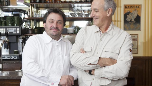 Yves Camdeborde et Jacques Ferrandez