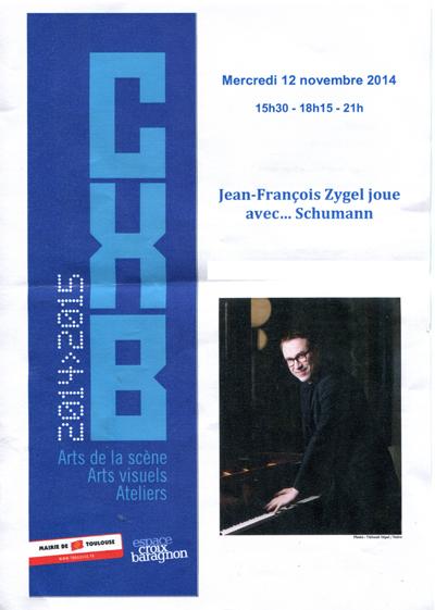 Jean-François Ziegel - Espace Croix-Baragnon