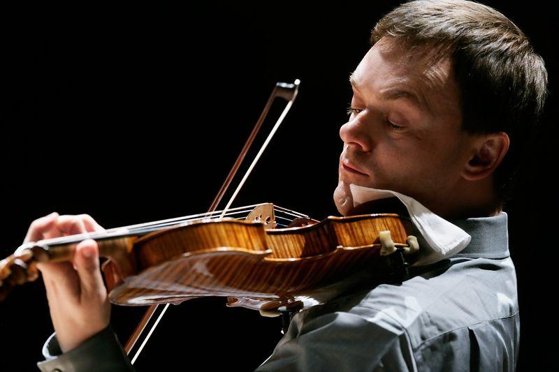 Le grand violoniste allemand Frank Peter Zimmermann